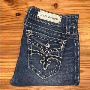 Rock Revival Jen Boot Jean, 30x34 *EUC* $188 MSRP